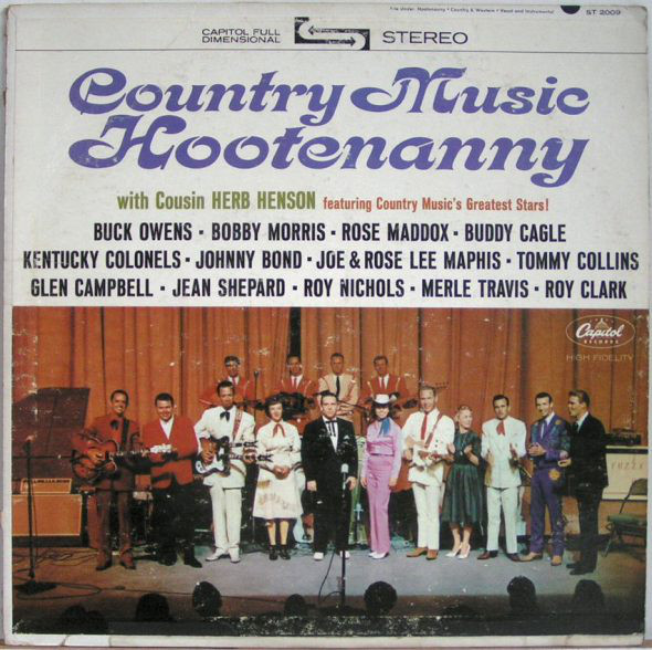 Country Music Hootenanny_Capitol T 2009_1963_Front Cover-GCF.jpg