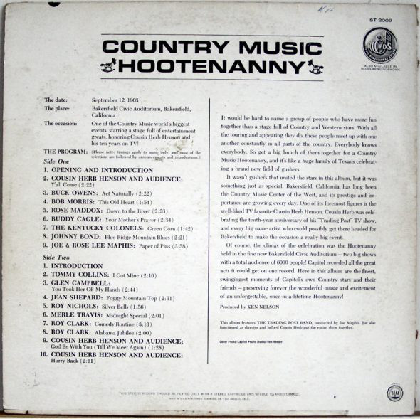 Country Music Hootenanny_Capitol T 2009_1963_Back Cover-GCF.jpg
