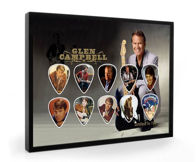 Glen Campbell_Framed Guitar Picks.jpg