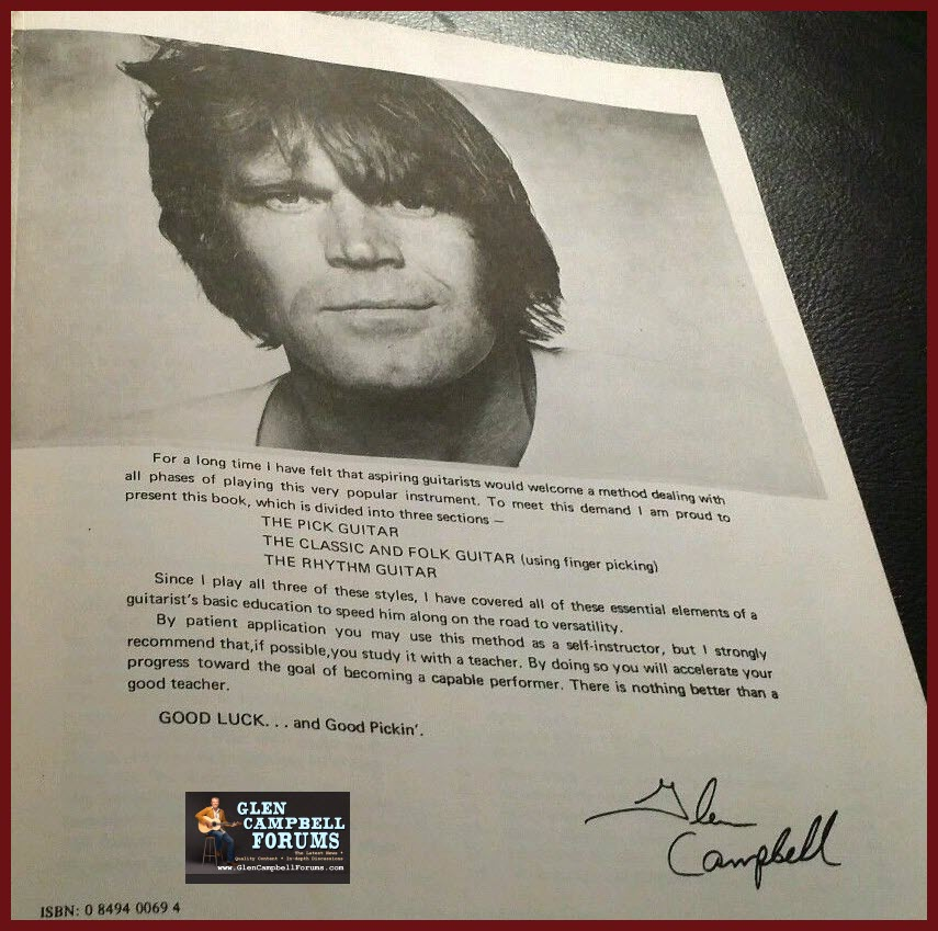 Glen's Personal Message_The Glen Campbell Guitar Method Book_1970-gcf on the net.jpg