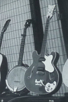Glen Campbell's Banjo in Guitar Lineup Photo.jpg