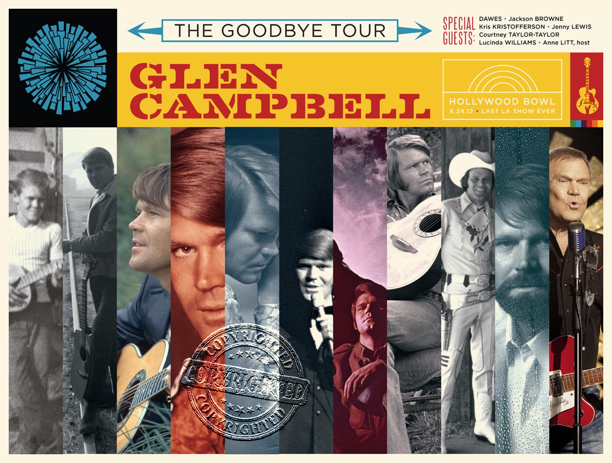Glen Campbell_Hollywood Bowl Poster_2012_by Kii Arens-gcf.jpg