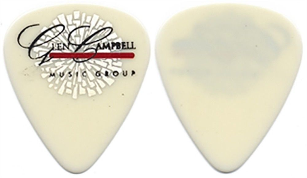 GLEN CAMPBELL MUSIC SHOW GUITAR PICK_WHITE_RARE_LOGO.jpg