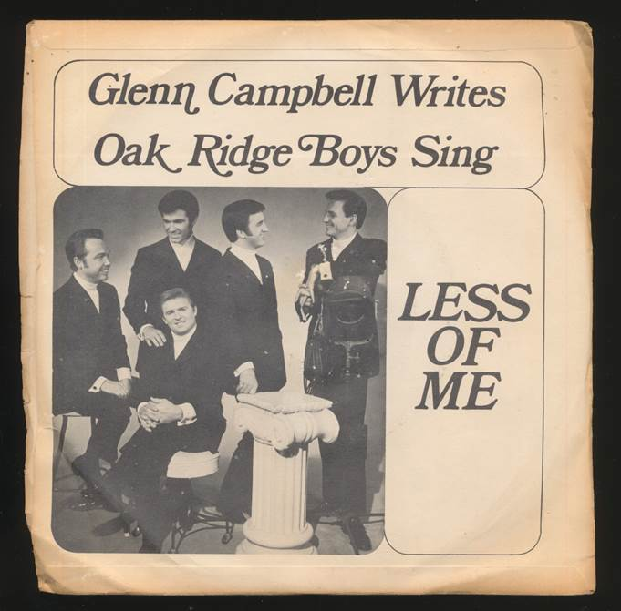 arlw's Oak Ridge Boys Sing Less of Me by GC - rare promo.jpg