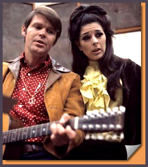 Glen Campbell and Bobbie Gentry in the Studio.jpg