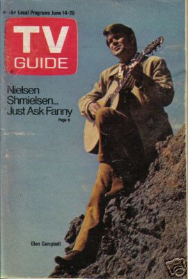 Glen Campbell on front of TV GUIDE June 14 1969.jpg