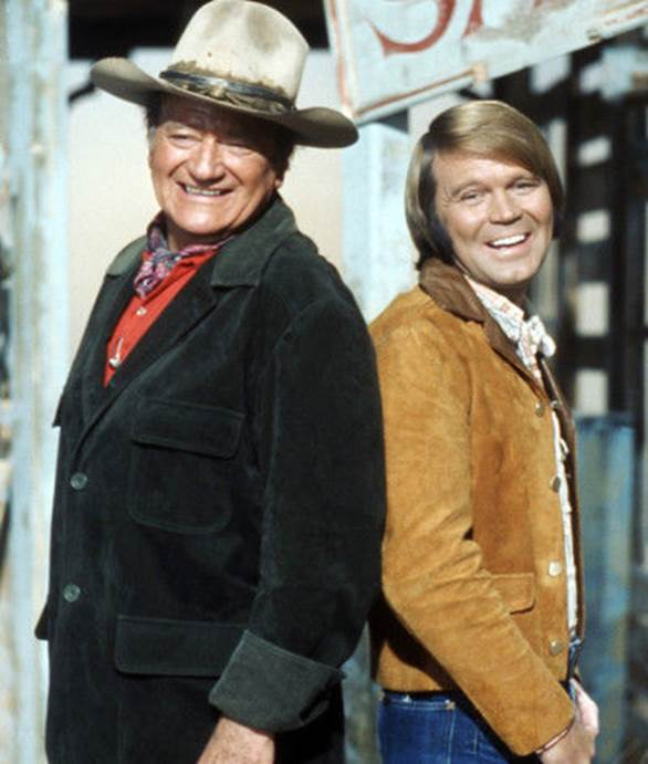 Glen Campbell and John Wayne_from arlw's collection_copyrighted.jpg