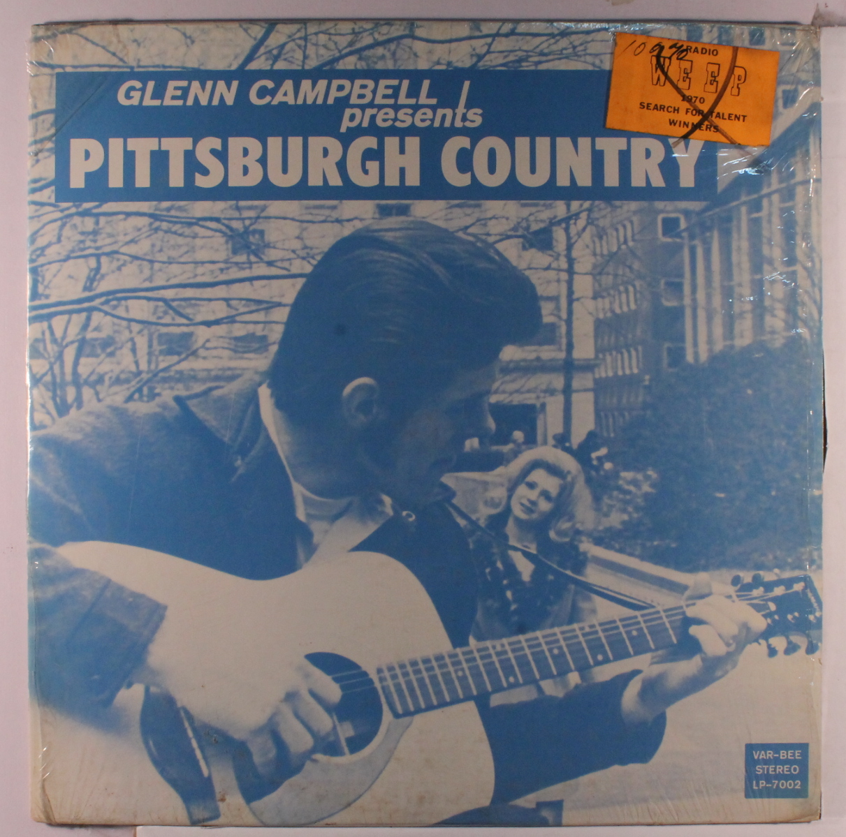Glenn Campbell Presents Pittsburgh Country_front album cover.JPG