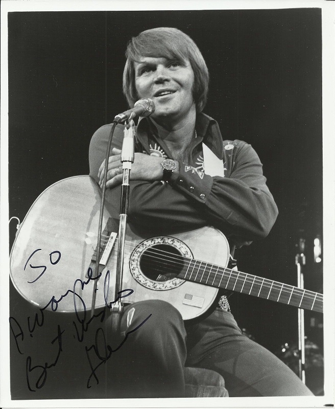 Glen Campbell Press Photo_Ovation with American Flag Stick-A-Pick_from unknown fan-gcf.jpg